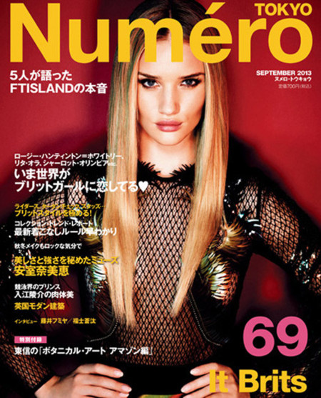 La noche y el día en las portadas con Gucci: Rosie Huntington-Whiteley vs. Jennifer Lopez