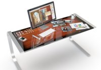 iDesk, así sería un escritorio multitáctil de Apple