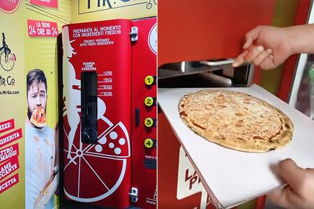 Roma ya tiene su primera máquina expendedora de pizzas. Para escándalo de los romanos, obvio