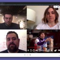 Esta extensión de Chrome hace que parezca que estás en una conferencia de trabajo mientras ves Netflix