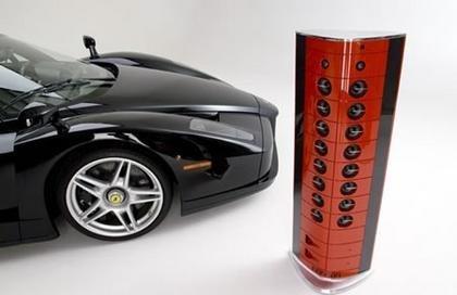 Altavoces made in Ferrari