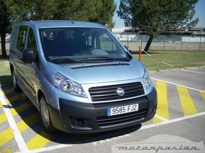 Prueba: Fiat Scudo Combi (parte 1)