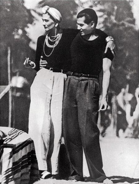 Coco con Serge Lifar