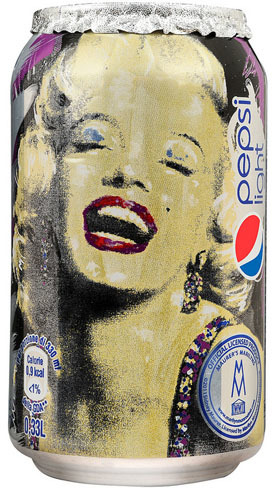 Marilyn by Sid Maurer para Pepsi Light
