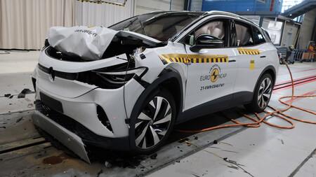 Euro NCAP estrella a los SUV eléctricos Volkswagen ID.4 y Skoda Enyaq iV: grandes resultados