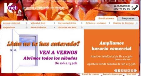 Knet comienza a comercializar FTTH indirecto en La Rioja