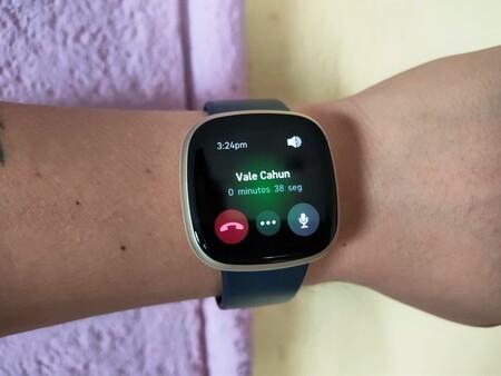 Fitbit Sense Versa 3 Analisis Review Mexico Llamadas Muneca