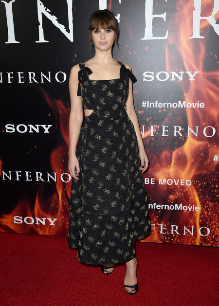 Felicity Jones Infenro Los Angeles