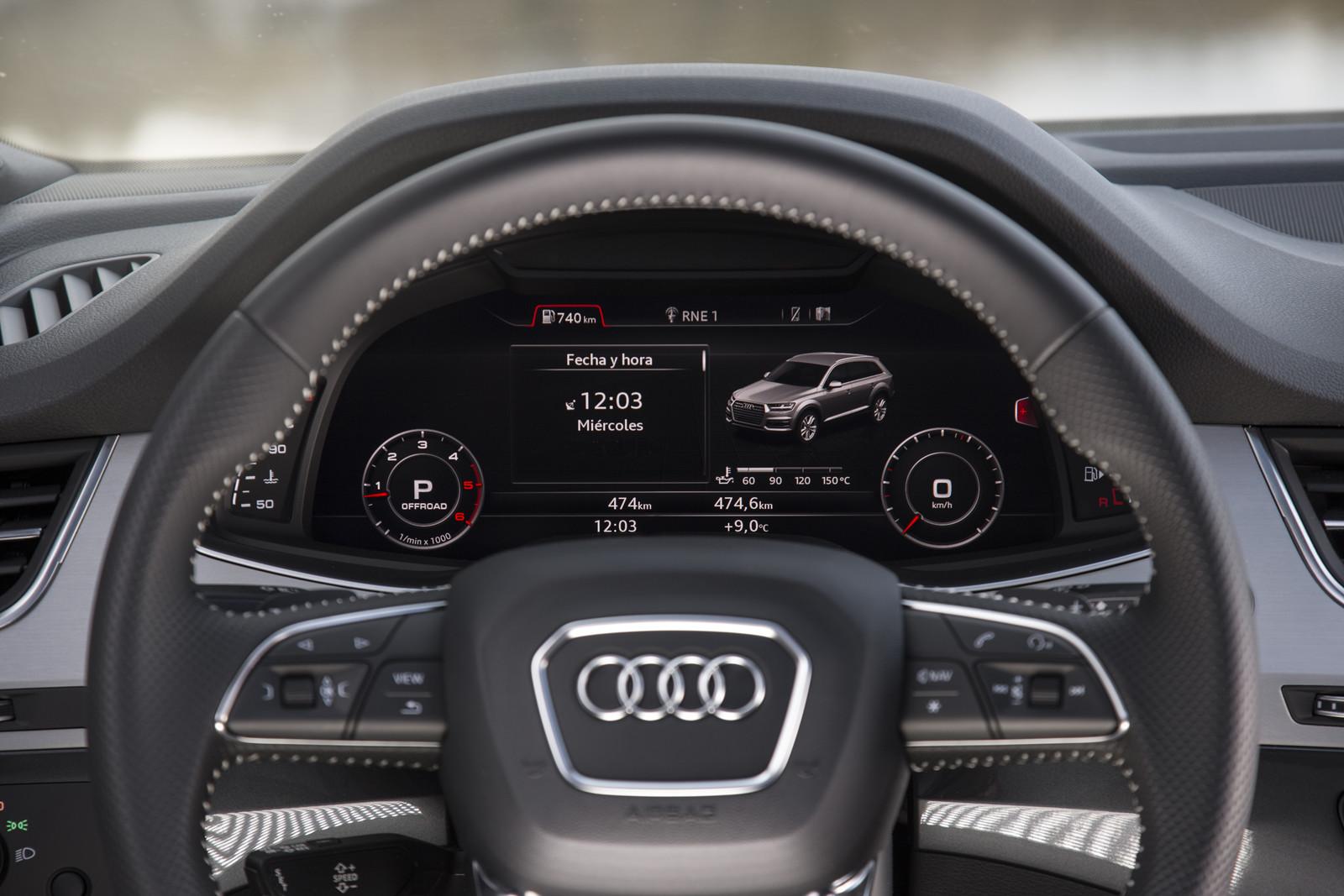 Foto de Audi Q7 3.0 TDI Ultra (prueba) (28/39)