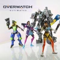 Así son los Overwatch Ultimates, la línea de figuras articuladas de Hasbro inspirada en Tracer y compañía