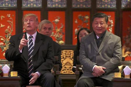 Trump y Xi Jingping