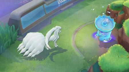 Imagen Ninetales Alola Pokemon Unite