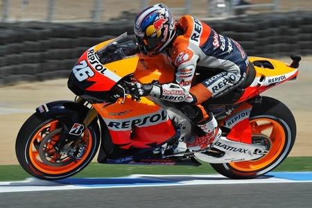 MotoGP Estados Unidos 2012: Dani Pedrosa vuela en Laguna Seca