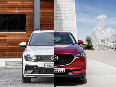 Comparativa Mazda CX-5 vs Volkswagen Tiguan: ¿cuál es mejor para comprar?