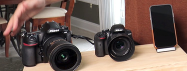 ¿Hay una clara diferencia entre una foto hecha con una réflex full frame Nikon y un iPhone XS? Este vídeo lo demuestra