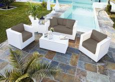 Cócteles de verano: cómo mezclar texturas y materiales en la terraza