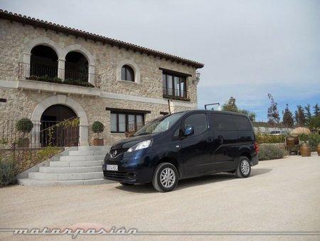 Nissan NV200 Evalia, presentación y prueba en Madrid (parte 1)