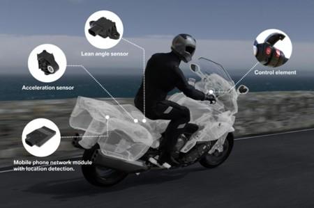 BMW Motorrad Llamada de Emergencia Inteligente