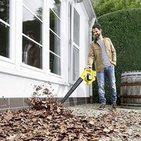 Ofertas en aspiradores y sopladores Kärcher en Amazon para limpiar patios, jardines o fincas a mejor precio