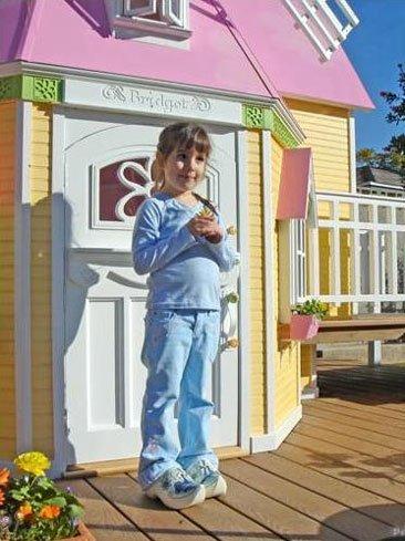 Casita de jardín para niñas de Posh Tots
