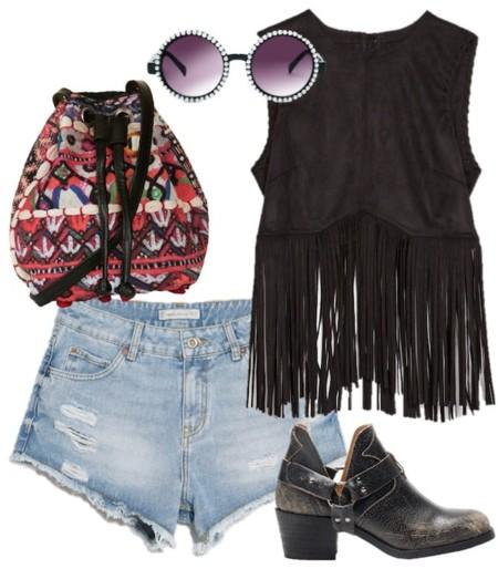 outfit festival vaqueros