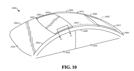 Más patentes que demuestran que Apple se ha interesado en un coche: techo solar deslizable y asientos hápticos