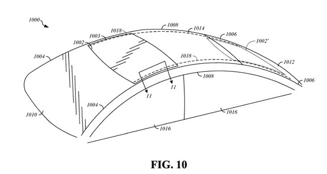 Apple Patente Coche Techo Solar