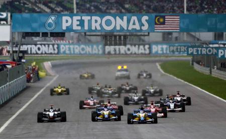 Sepang 2003 Salida F1