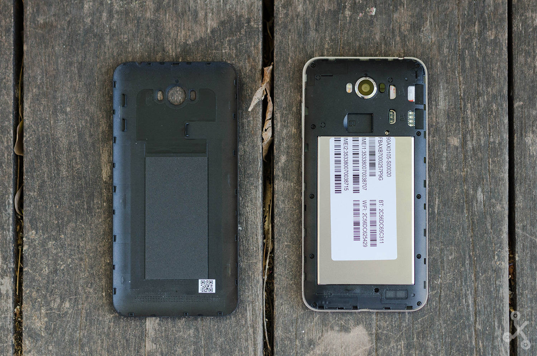 Asus Zenfone Max, diseño