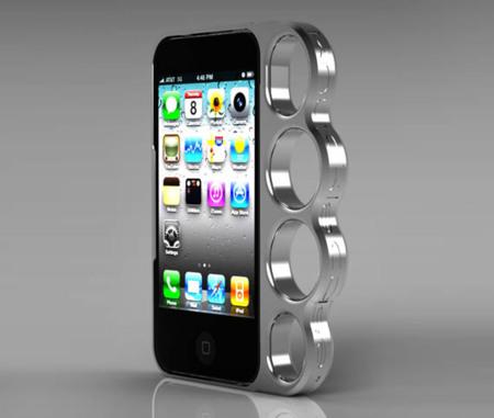 Carcasa puño americano para el iPhone
