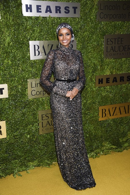 Halima Aden Lincoln Center Corporate Fund Fashion Gala