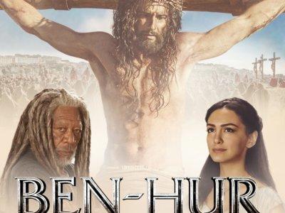 'Ben-Hur', lamentable tráiler final de la nueva versión, con Jesucristo como reclamo