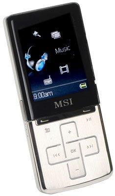MSI P610 y P640, reproductores MP3