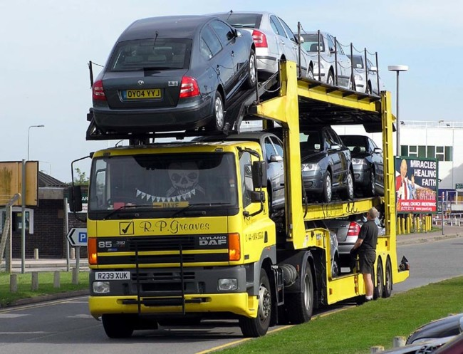 Camion Coches