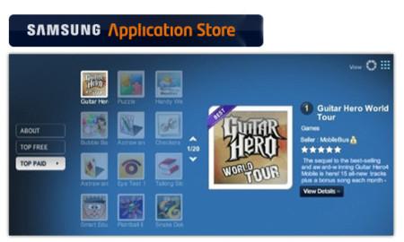 Samsung Application Store se deja ver en algunos países