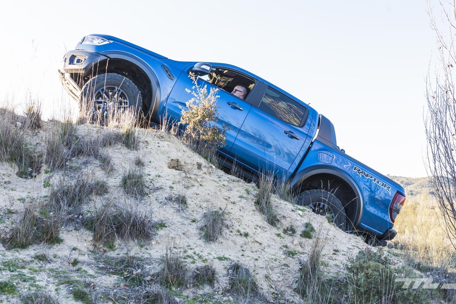Foto de Ford Ranger Raptor 2020, prueba (13/36)