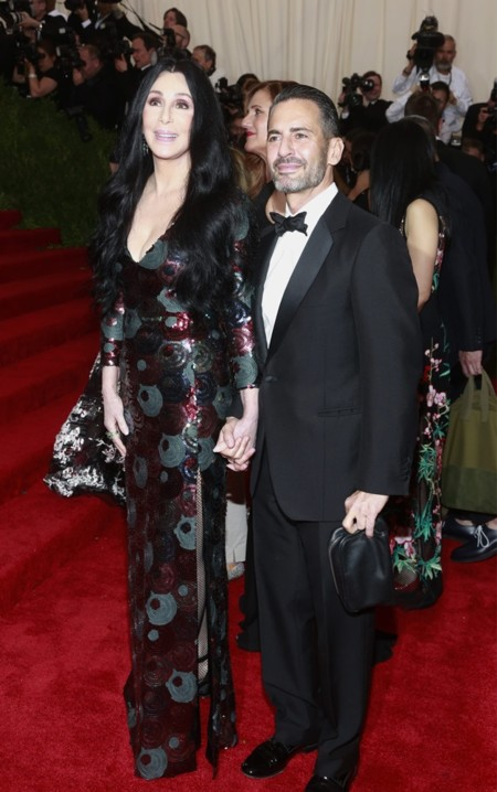 Marc Jacobs y Cher