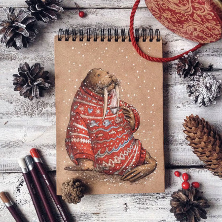 Fairytale Illustrations Color Pencil Lia Selina 31
