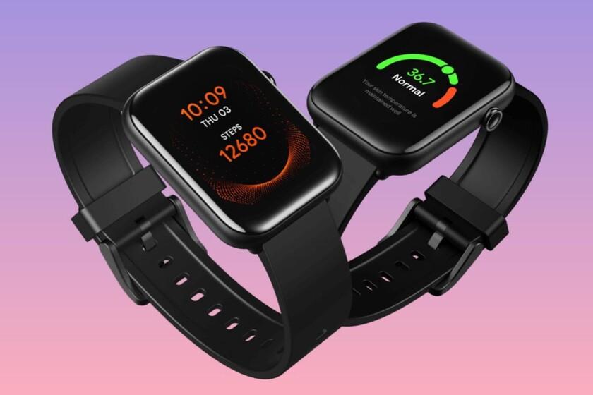 Mobvoi TicWatch GTH, uno de los relojes más baratos de la marca y con lectura de SpO2 y de temperatura