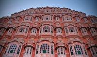 El Hawa Mahal o Palacio de los Vientos de Jaipur