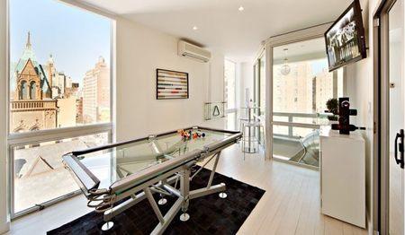 Duplex East Village Manhattan Pool Table