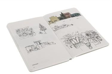 Monográficos sobre arquitectura de Moleskine