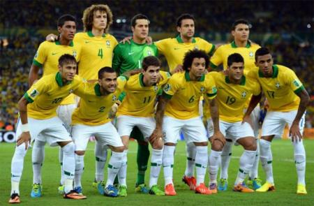 Brasil Seleccion 2013