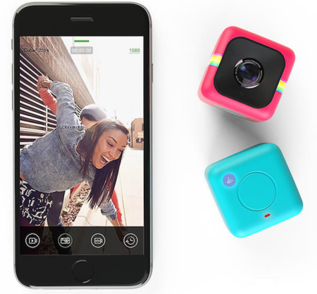Polaroid Cube+, la pequeña cámara de acción ahora con WiFi