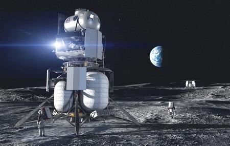 Jeff Bezos ofrece 2.000 millones de dólares de su bolsillo con tal de que la NASA escoja a Blue Origin para ir a la Luna