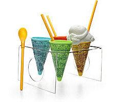 Cono de helado pop art