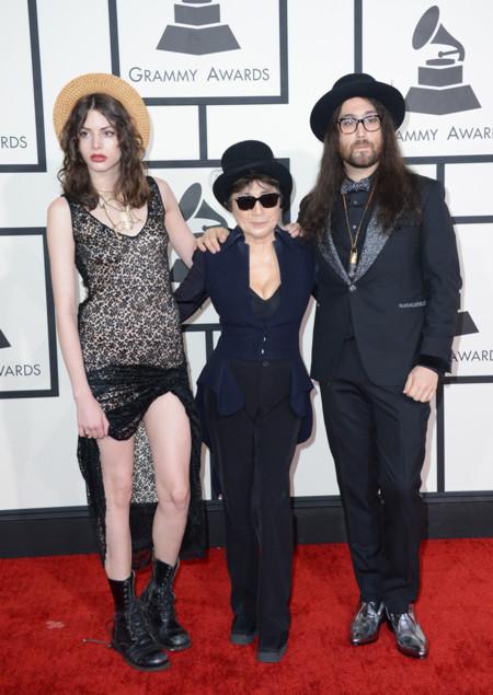 Yoko Ono Grammy 2014