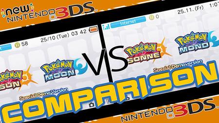 Comparan en vídeo la demo de Pokémon Sol y Luna en un New 3DS y un 3DS