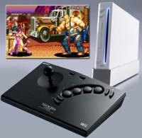 Controlador de Neo Geo para la Wii