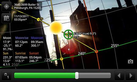 Planifica tu sesión fotográfica con Sun Surveyor y cuenta con el Sol como aliado